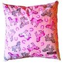 Daunenkissen Pferdchen rosa